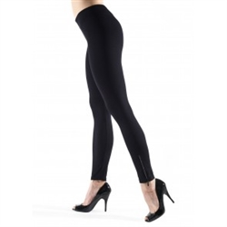 Seamless Leggings with Zipper