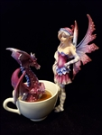 Cup Fairy with Dragon