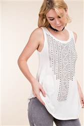 Studded Tank Top