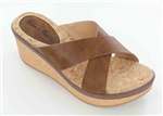 Brown Wedge Sandal
