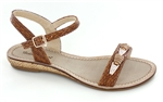 Flat Brown Sandal