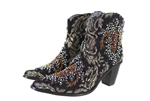 Short Tapestry Boots