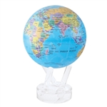 Blue with Political Map MOVA® Globe